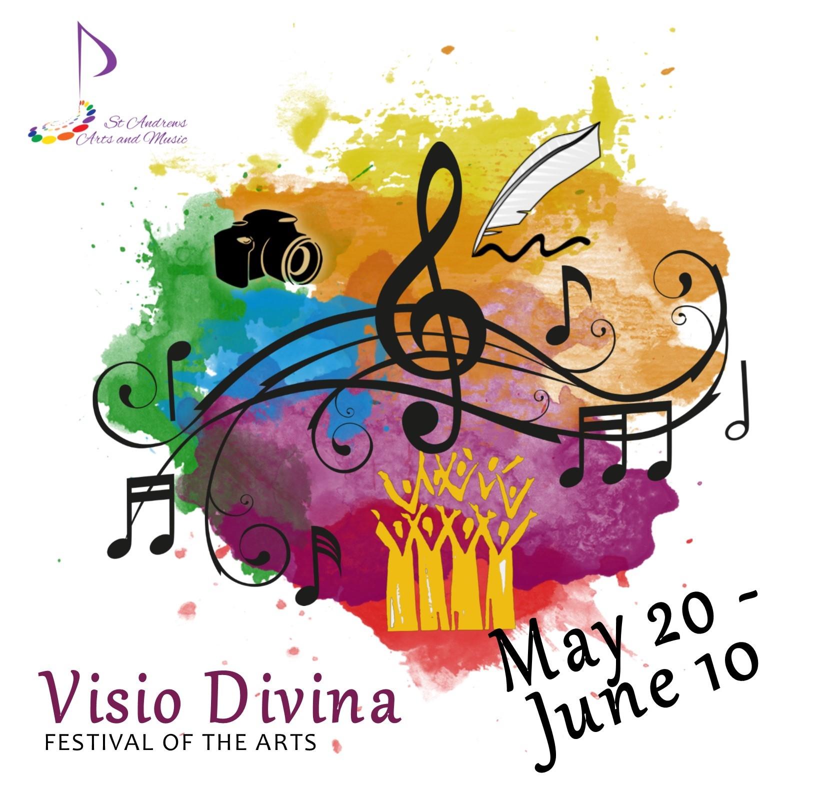 2018 Visio Divina Poster