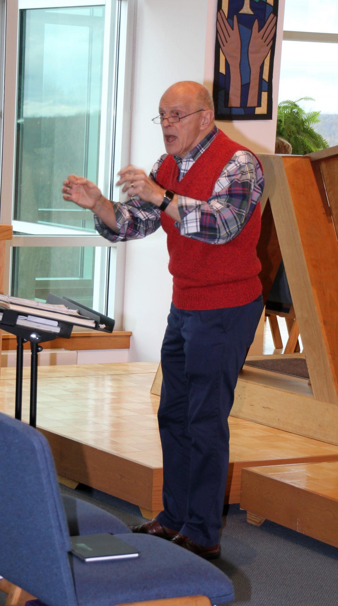 ST. ANDREWS PRESBYTERIAN CHURCH - Bob Nelson, Choir Director