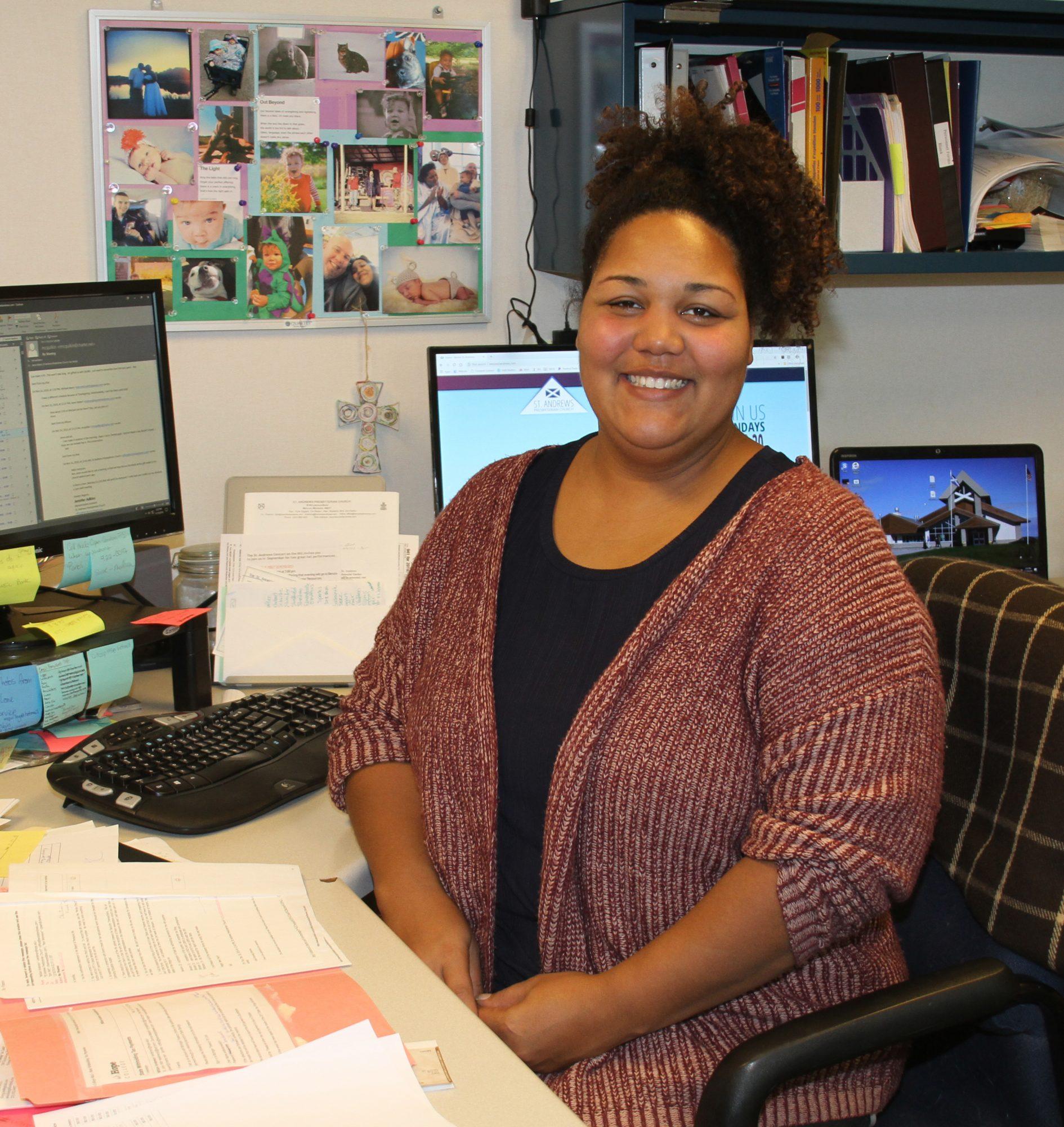 ST. ANDREWS PRESBYTERIAN CHURCH - Jennifer Adkins, Administrative Assistant