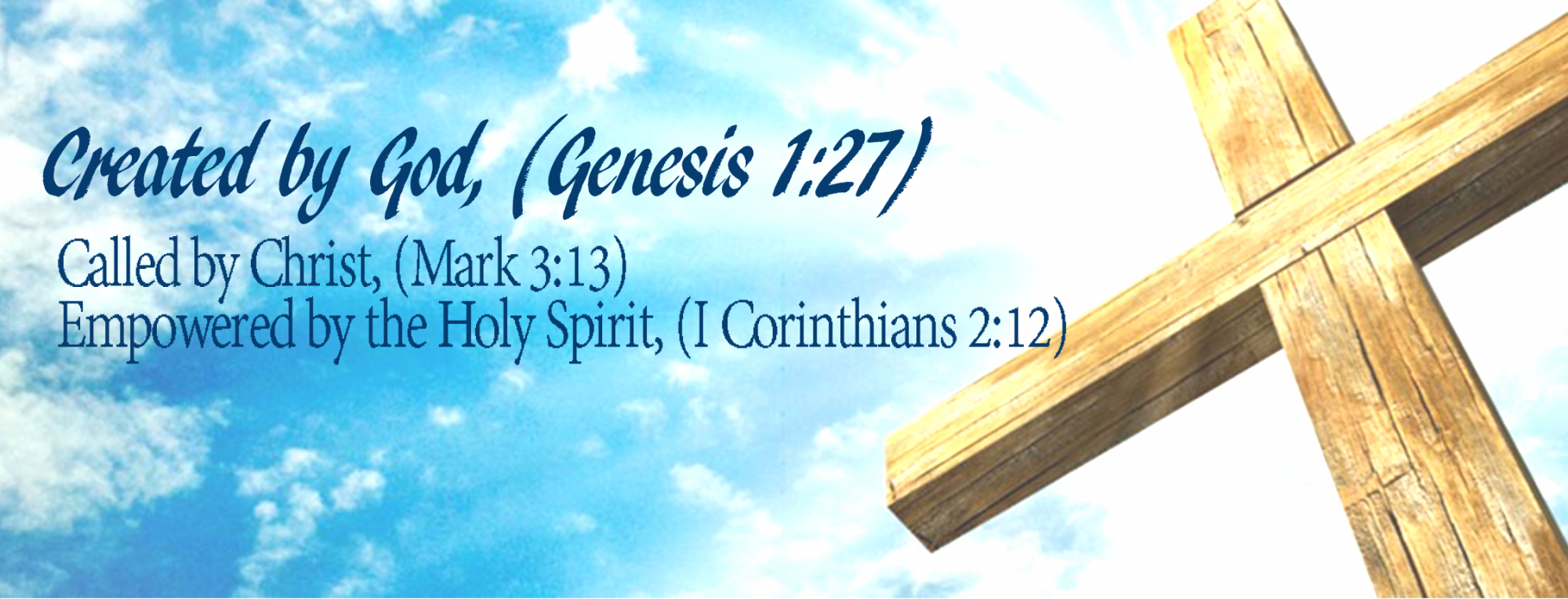 created by god etc banner